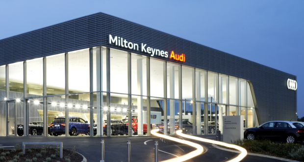 Jardine opens new audi centre in milton keynes for Jardine motors