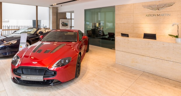 Stratstone Mayfair Is Top Aston Martin Dealership - Aston martin dealerships