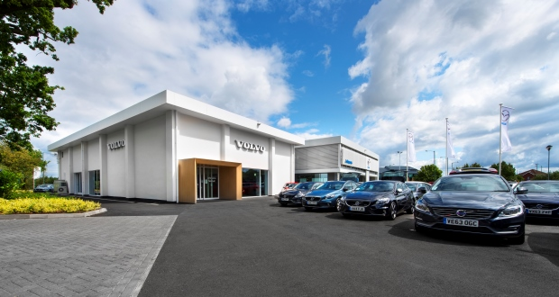volvo launches new look for dealerships