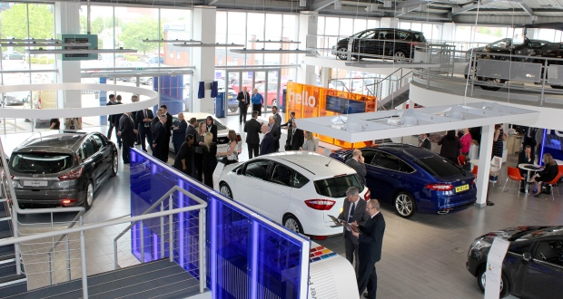Evans Halshaw Opens First Fordstore In Manchester