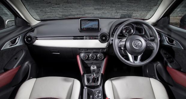 Mazda cx 3 2015 review motor trader for Mazda cx 3 interieur
