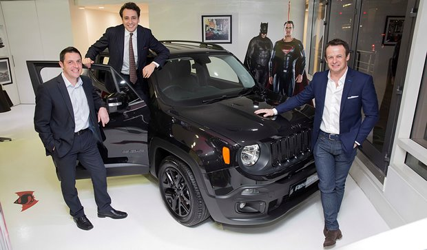 Motor Village Uk In Oxford Street Displays Jeep For First Time