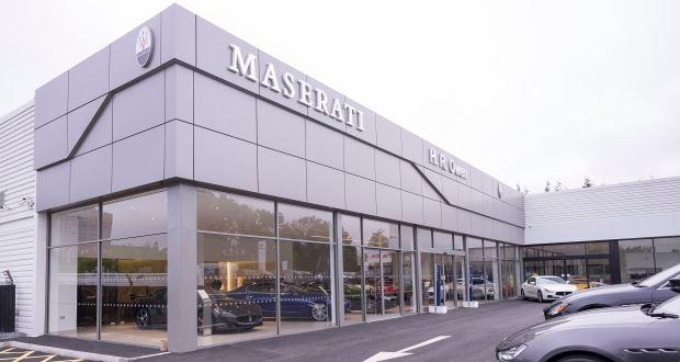 Hr Owen Opens Maserati Centre In Stockport
