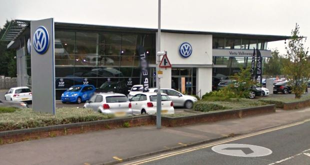 Vertu Pumps 163 1 4m Into Volkswagen Dealership In Nottingham