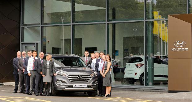 Arnold Clark opens UK's largest Hyundai dealership