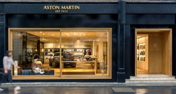 Aston Martin Opens First Boutique Store In London