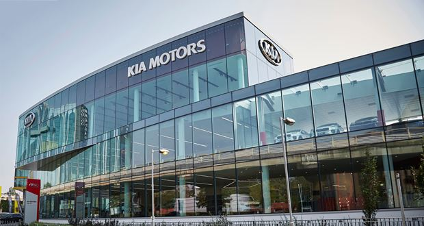 Kia west london dealership is its biggest in europe Kia motor dealers