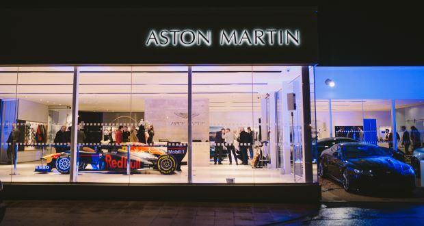 pendragon renovates aston martin dealership in wilmslow