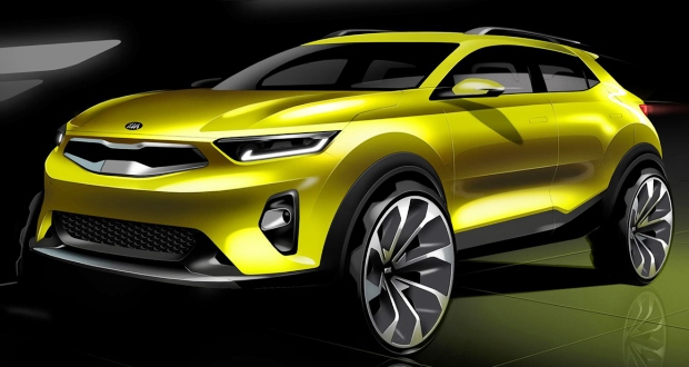 kia stonic compact suv to go on sale in late 2017. Black Bedroom Furniture Sets. Home Design Ideas