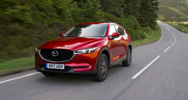 The Second Generation CX 5 SUV Arrives In In Dealer Showrooms In July With  Prices Ranging From £23,695 To £33,195. It Is An Important Car For The  Network, ...