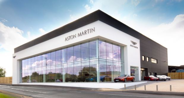 Sytner Takes On First Aston Martin Dealership - Aston martin dealerships