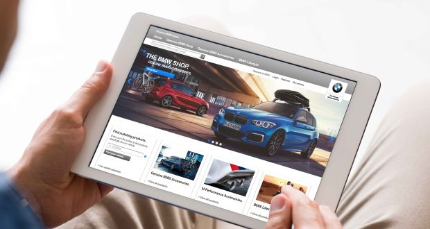 BMW launches digital parts and accessories shop