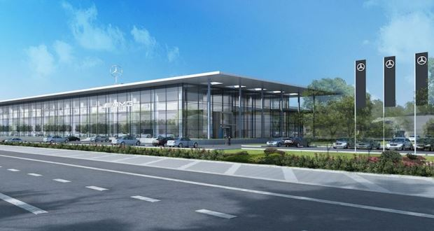 Lsh auto to open new mercedes benz dealership in stockport for Mercedes benz dealers manchester
