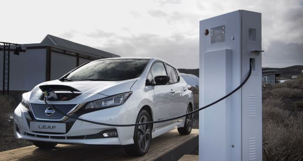 Nissan targets 1000 vehicle-to-grid installations