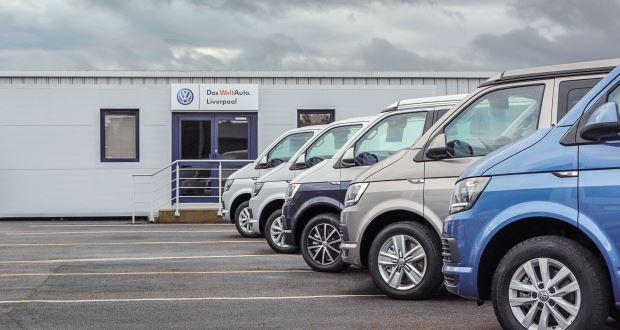 edcfa1486b Swansway opens UK s largest VW used van centre