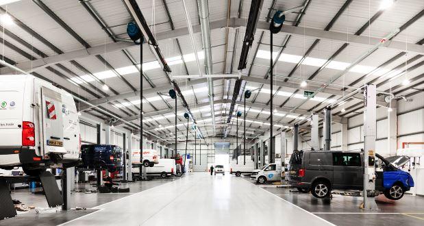 Inchcape opens largest UK Volkswagen van workshop