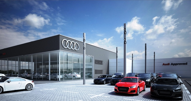 Lookers Invests 163 3m In Guildford Audi Dealership