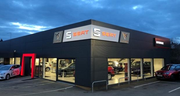 Motorvogue incorporates Cupra into Seat showroom