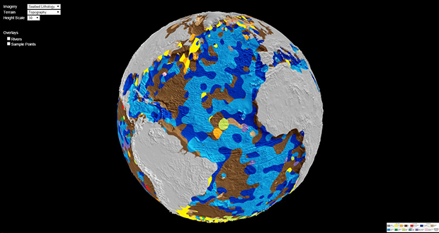 Digital Map Of The World.First Digital Geological Map Of The World S Ocean Floor Laboratory
