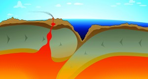 Geologists have discovered that the Izu-Bonin-Mariana subduction zone was formed spontaneously as one tectonic plate sank because it was denser.