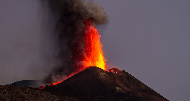 How can you predict volcanic eruptions?