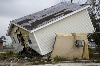 The damage caused by Hurricane Katrina was estimated at $108bn.