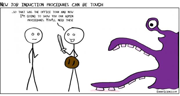 the multi tentacled admin beast laboratory news