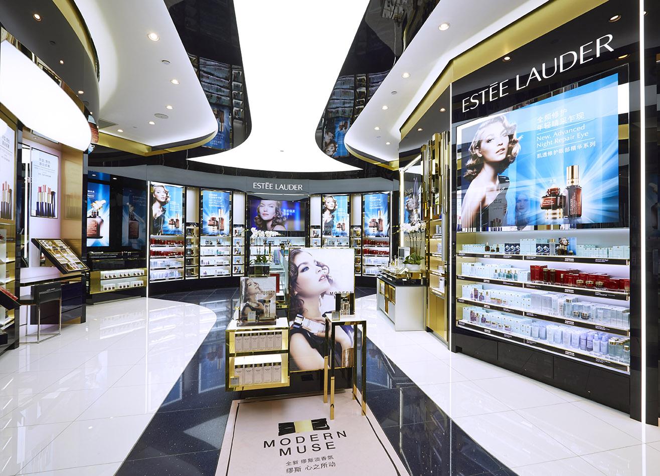 Estée Lauder introduces largest travel-retail flagship at ...