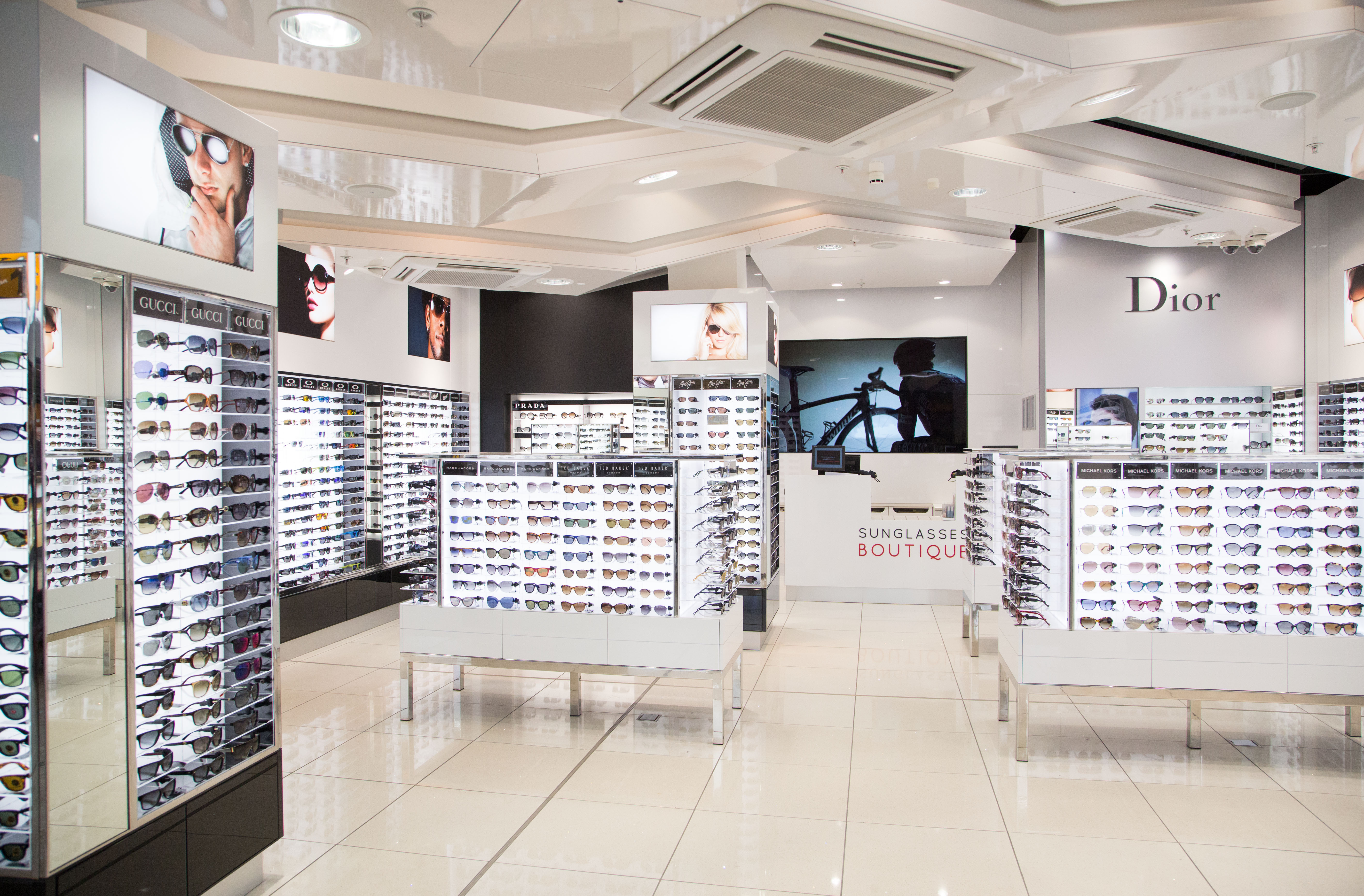 Check out the great selection of brand name and designer sunglasses at Eyeglass World at great low prices!