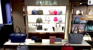 Furla's new space in Bergamo Orio al Serio airport in Italy
