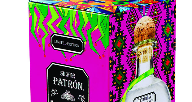 2019 Patron Tequila chinese new year Limited Edition Collectors Tin Box Rare