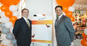 Padraig Drennan, President WDFG North America with Peter Amaro Jr, President & COO, Master ConcessionAir