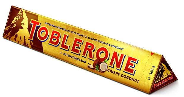 Toblerone Launches Crispy Coconut And Tiny Mini Box