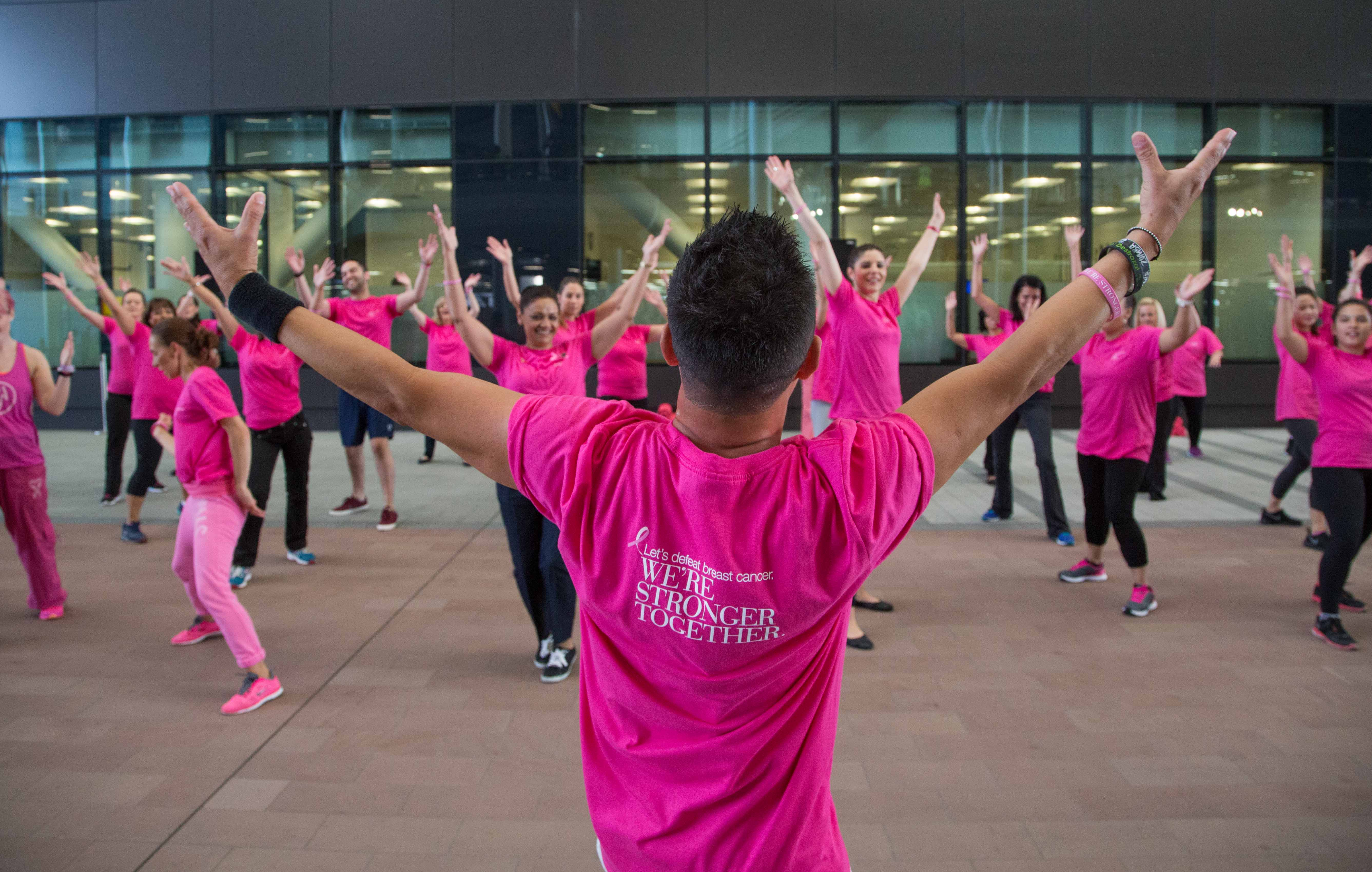 Beating Breast Cancer With Zumba