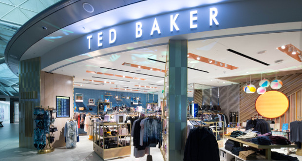30023e306907fe Ted Baker relaunches Stansted standalone store