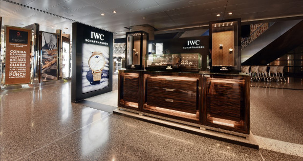 Qatar duty free opens first iwc pop up boutique for American home furniture qatar