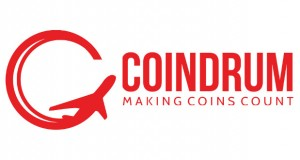 Coindrum provides a service in airports that lets travellers dispose of their unwanted coins before leaving the currency area. The Coindrum machines in return issue a voucher for the airport shops which is worth 110% of the deposited coins.