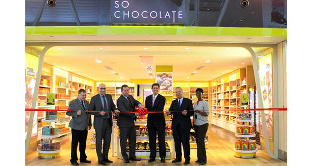 Paradies Lagardère and JFK airport celebrate the So Chocolate! launch