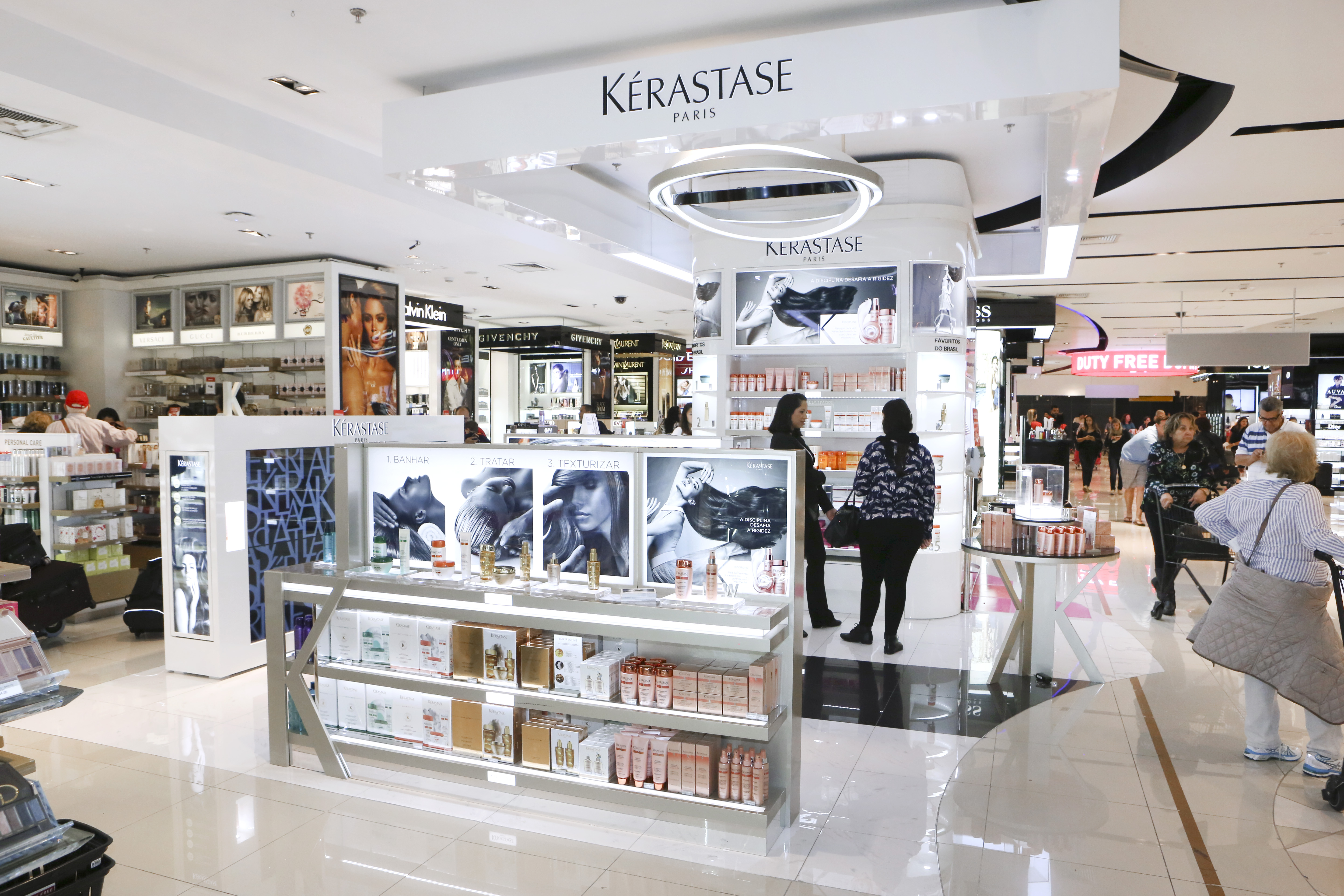 Kerastase products have been praised in top beauty mags like Glamour, People, Elle, and Latina for their ability to handle almost any common hair complaint: Protect your hair from the drying and fading effects of sun, chlorine, and salt with the Kerastase Soleil line .