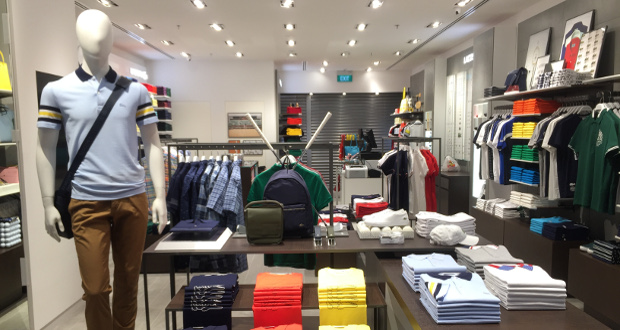 94b472220bb9d7 Changi airport presents latest Lacoste boutique store
