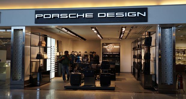 porsche design opens at gmr hyderabad international airport. Black Bedroom Furniture Sets. Home Design Ideas