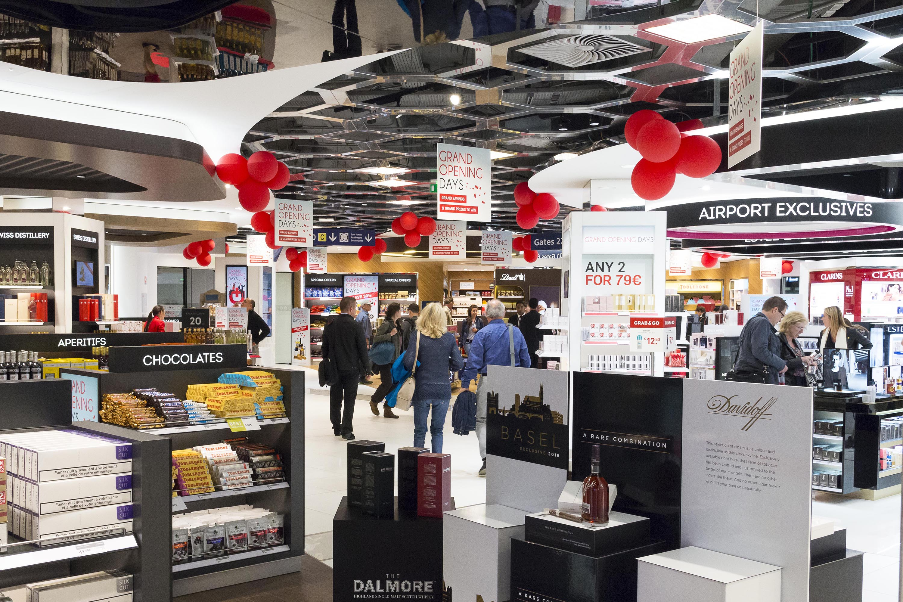 Dufry opens revamped walkthrough at euroairport basel - Boutique free mulhouse ...