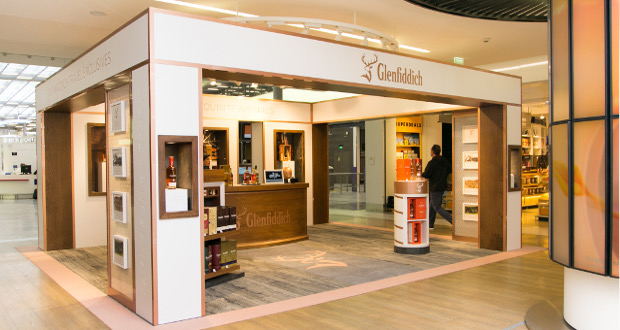wgs launches glenfiddich pop up with lagard re travel retail. Black Bedroom Furniture Sets. Home Design Ideas