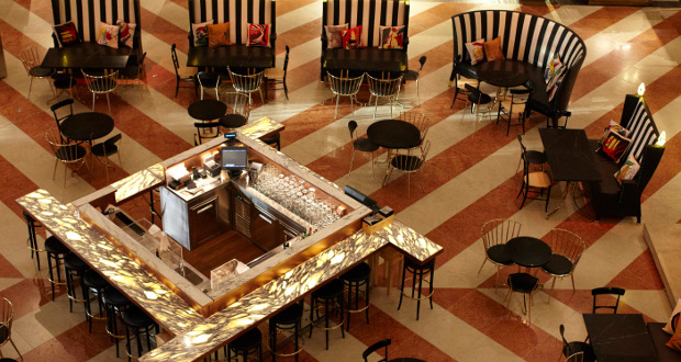 New amo restaurant opens in dfs t fondaco store for Ristorante amo venezia