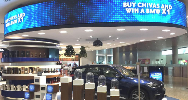 Mumbai Duty Free and Pernod Ricard launch BMW prize draw