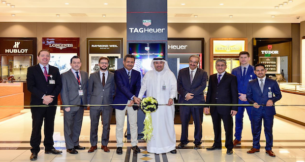 Premium watches boutique opens at Bahrain Duty Free