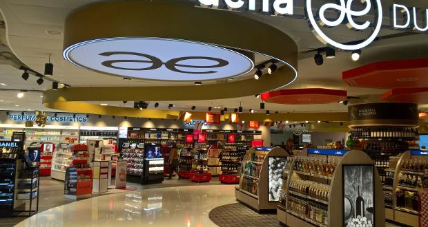 Aelia Duty Free opens