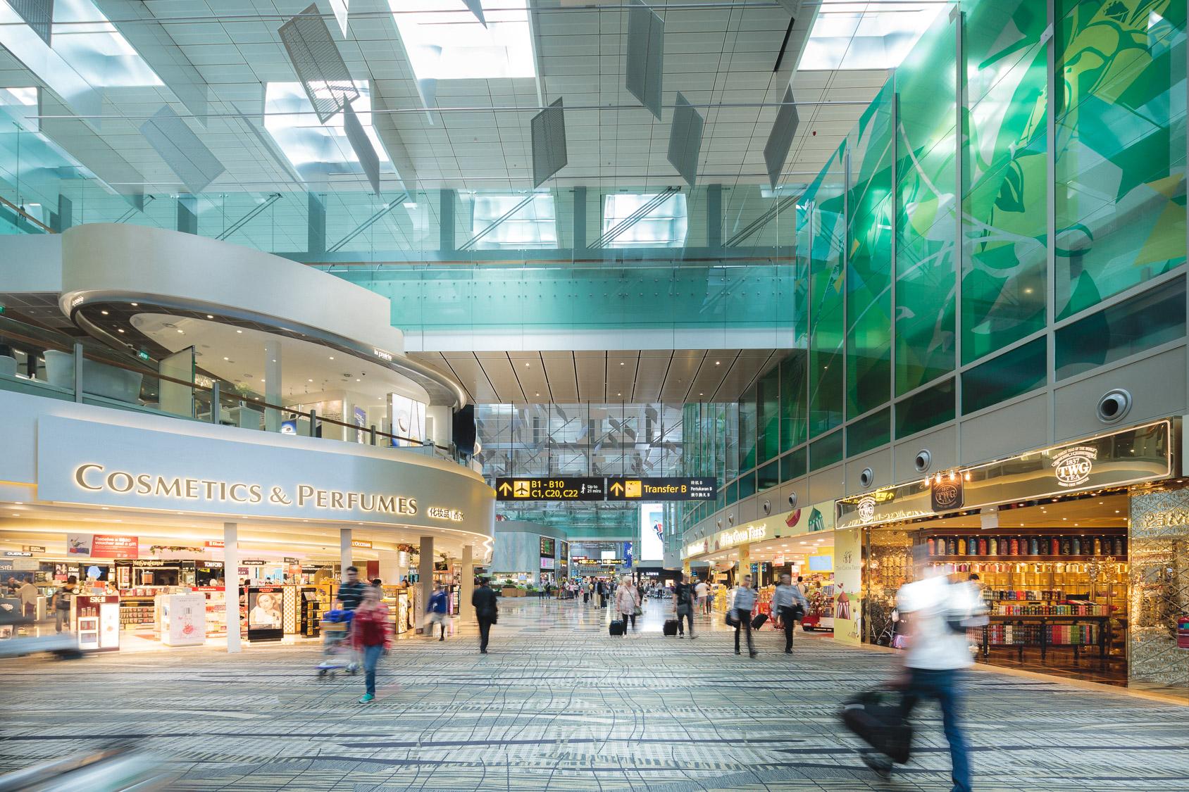 Louis Vuitton To Unveil Duplex Store At Singapore Changi T3