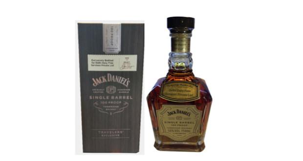 jack daniel s single barrel hits delhi duty free t3 store