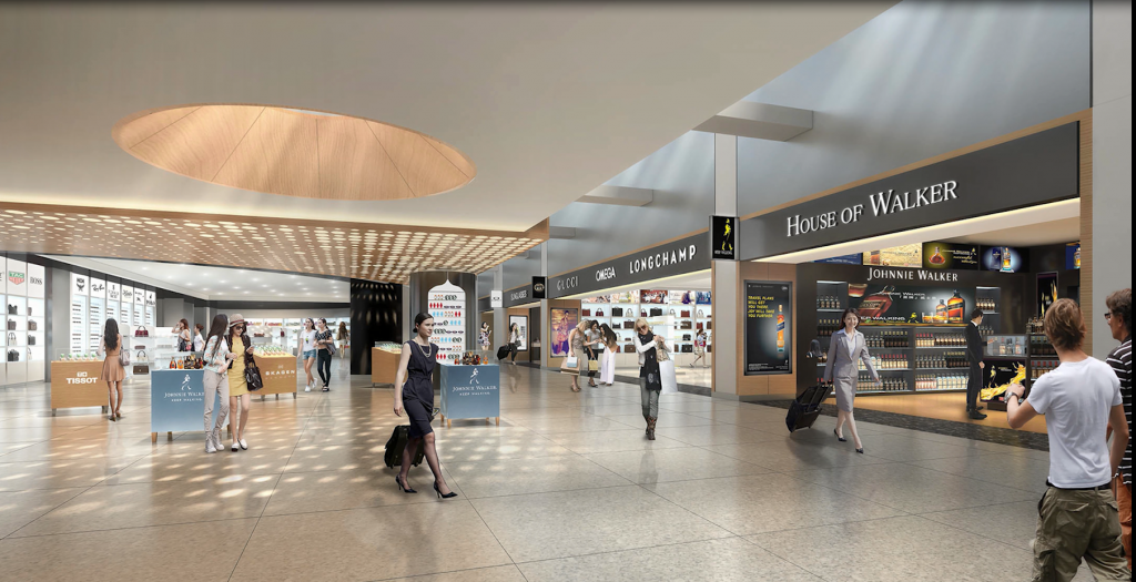Update ba reveals new york jfk t7 modernisation and for Online shopping sites in new york